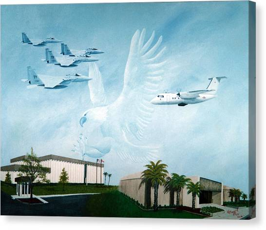 Tyndall Afb Later Years Canvas Print
