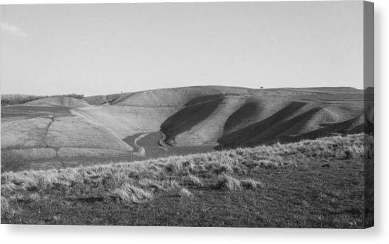 Uffington White Horse Canvas Print