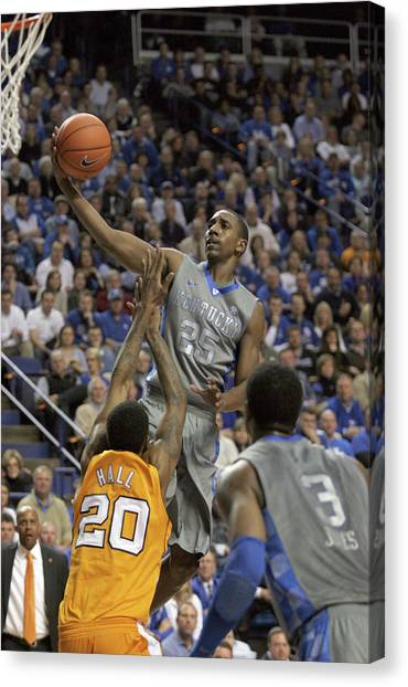 University Of Kentucky Canvas Print - Uk V. Ut - 12 by Mark Boxley
