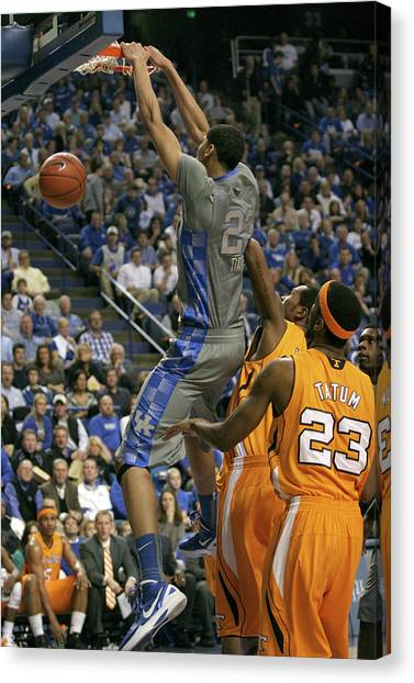 University Of Kentucky Canvas Print - Uk V Ut - 18 by Mark Boxley