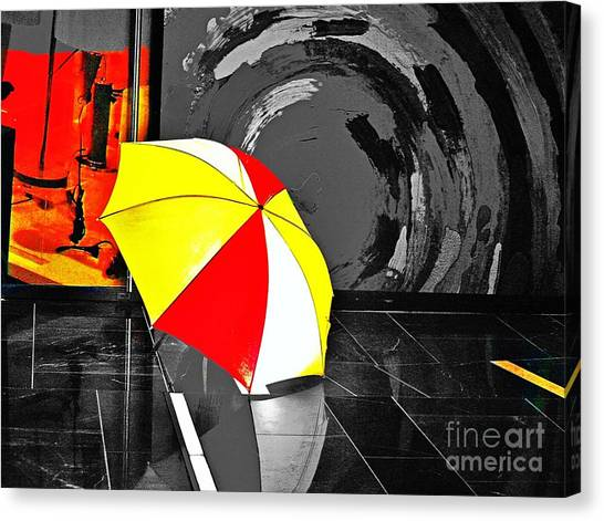 Umbrella 2 Canvas Print