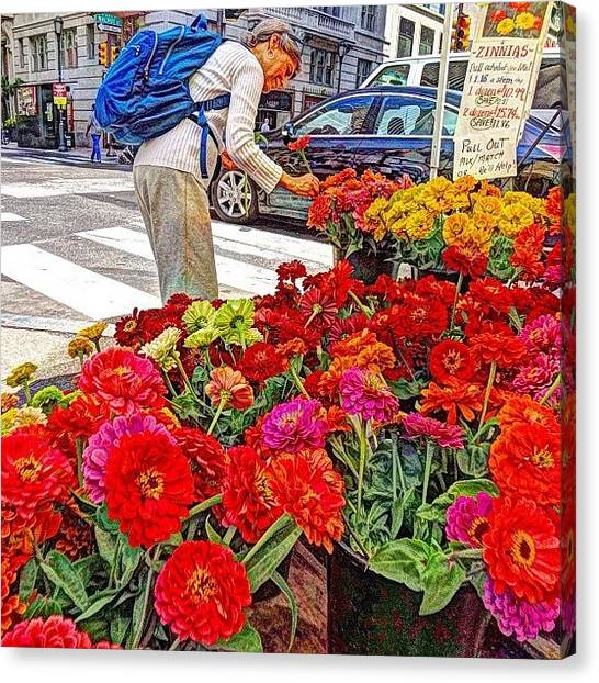 Farmers Canvas Print - Ummm This One Looks Good! 🌺 Buying by Stacey Lewis