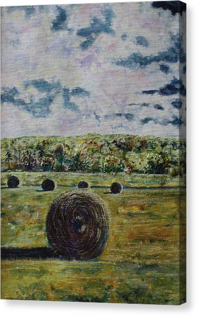 Canvas Print - Uncertain Skies by Patsy Sharpe