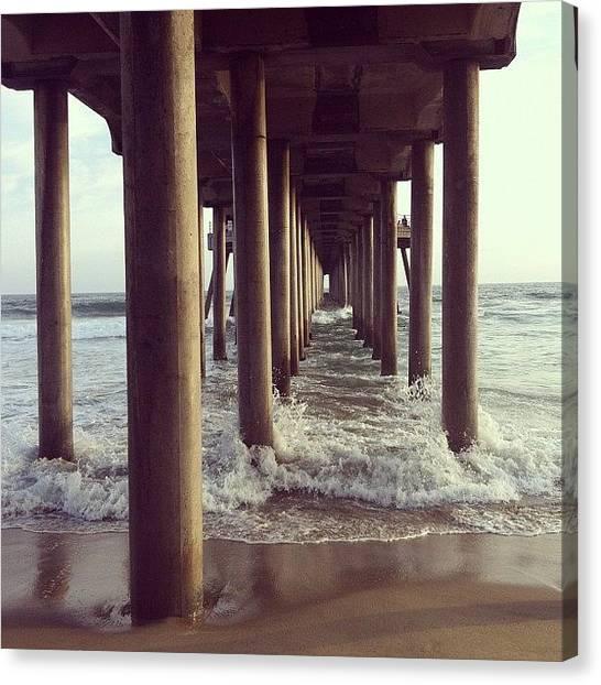Pop Art Canvas Print - Under The Sea... Bridge, I Meant Bridge by Soda Love