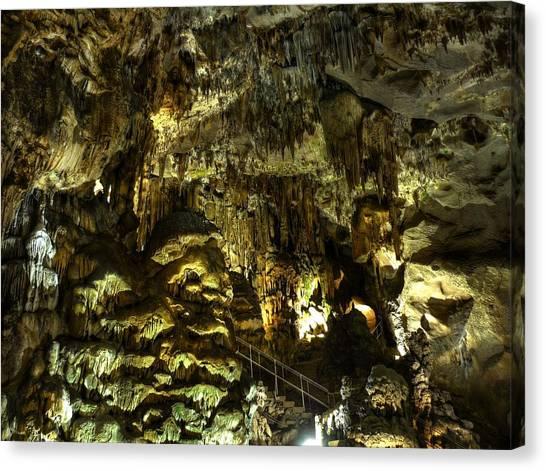Underground Cave Canvas Print by Martin Marinov