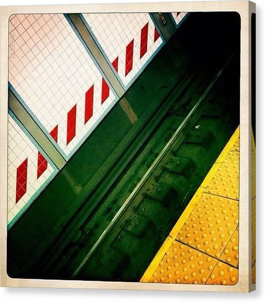 Subway Canvas Print - Underground by Natasha Marco
