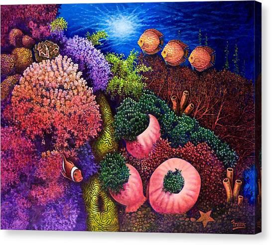 Undersea Creatures IIi Canvas Print