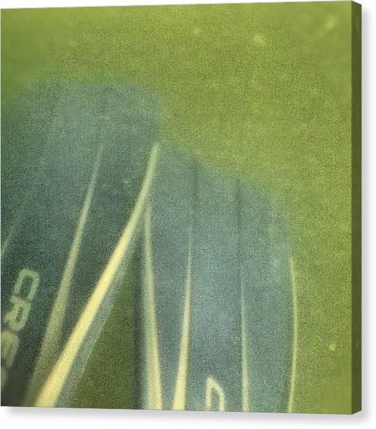 Flipper Canvas Print - Underwater :d #flippers #underwater by Kory Magdziuk