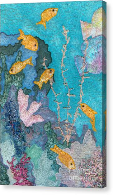 Underwater Splendor II Canvas Print
