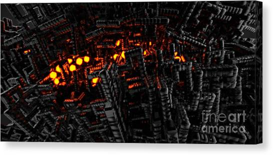 Unfortunate Eternal Dwelling Canvas Print