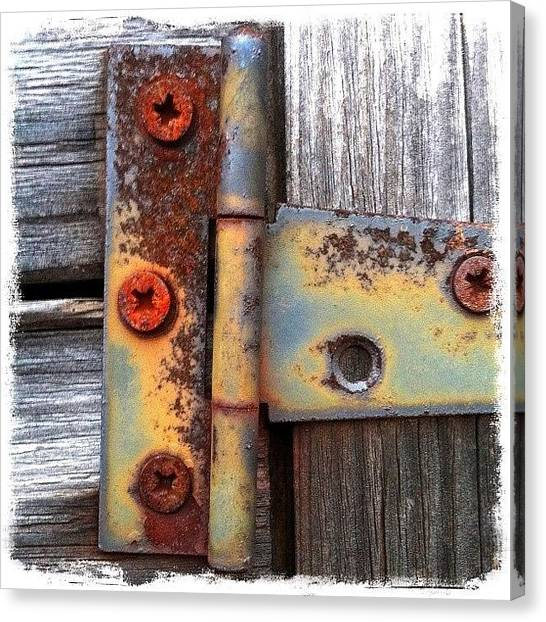 Rust Canvas Print - Unhinged by Mark B