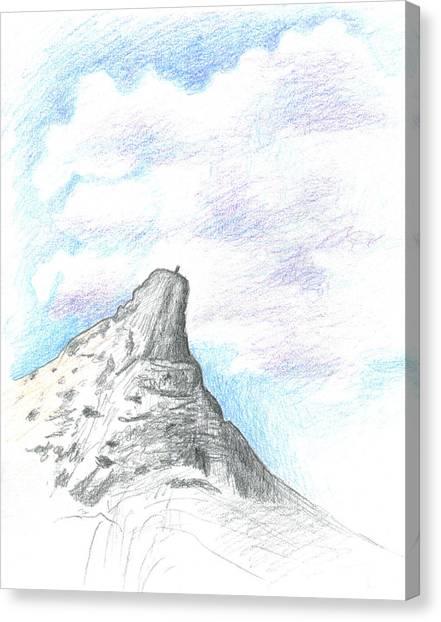 Canvas Print - Unicorn Peak by Logan Parsons