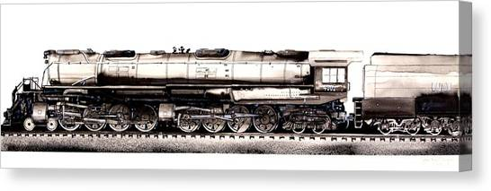 Union Pacific 4-8-8-4 Steam Engine Big Boy 4005 Canvas Print