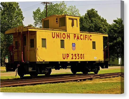 Union Pacific Canvas Print by Barry Jones