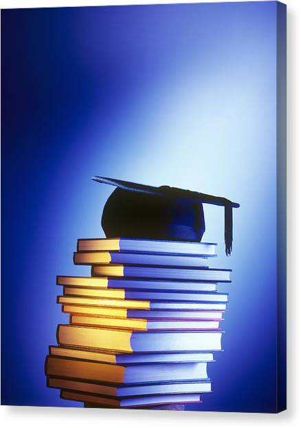 Bachelors Degree Canvas Print - University Education by Adam Gault