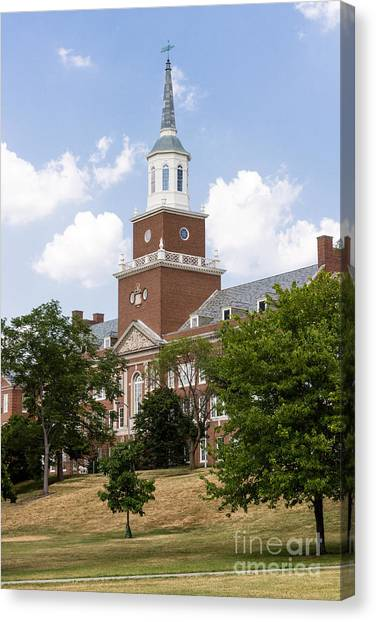 University Of Cincinnati Canvas Print - University Of Cincinnati Mcmicken College by Paul Velgos