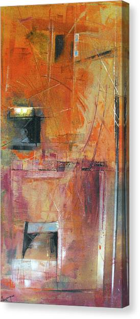 Unknown Excavation Canvas Print by Ralph Levesque