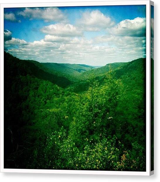 Tennessee Canvas Print - #untamedamericas #iphoneography by Kim Balevre