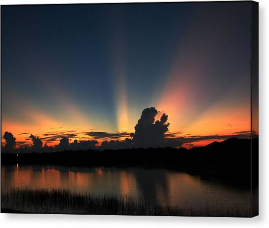 Untitled Sunset-14 Canvas Print