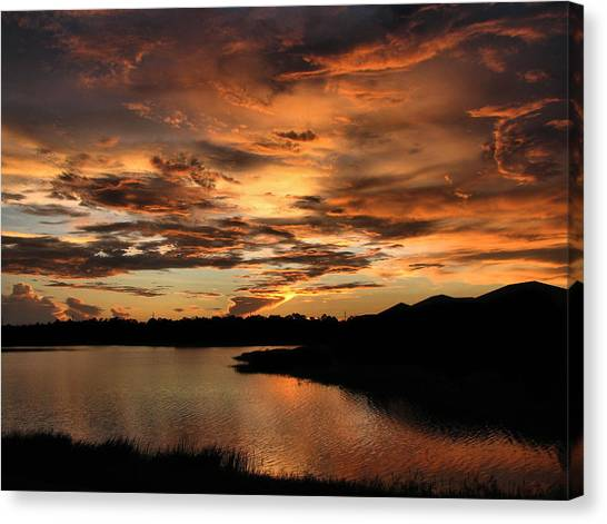 Untitled Sunset-7 Canvas Print