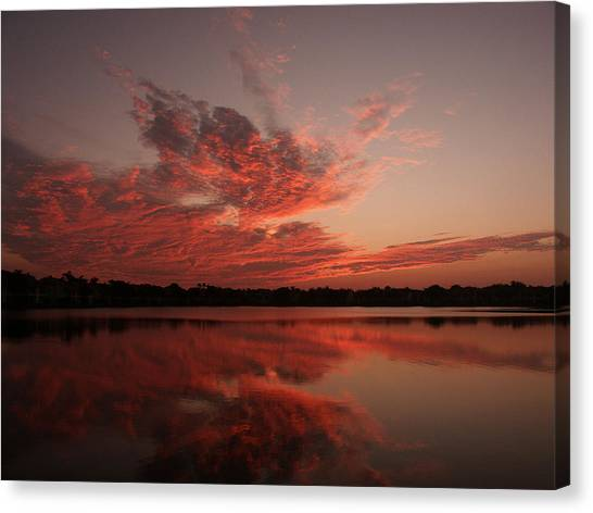 Untitled Sunset-9 Canvas Print