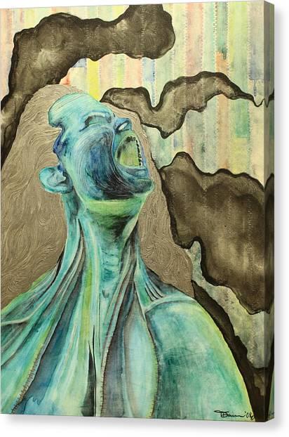 Unzipped Canvas Print