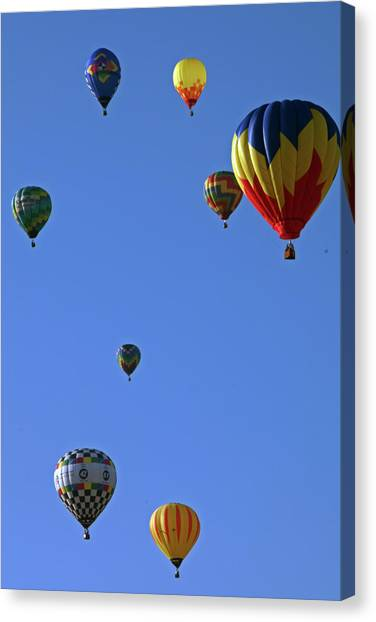 Up And Away Canvas Print
