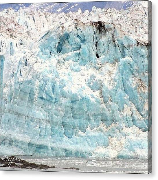Glaciers Canvas Print - Up Close And Personal 2. Last Of The by Cynthia Post