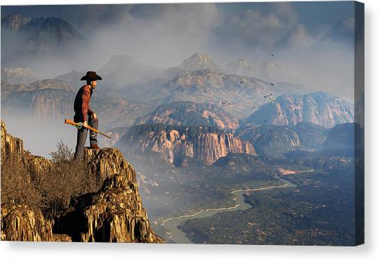 Upon This Land Canvas Print