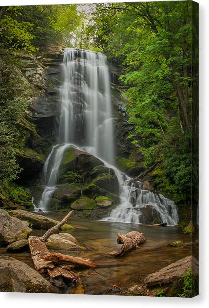 Upper Catawba Canvas Print