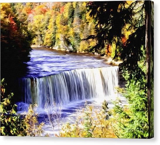 Upper Tehquamenon Falls Canvas Print