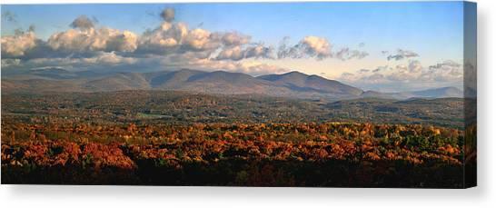 Upstate Ny Panorama Canvas Print