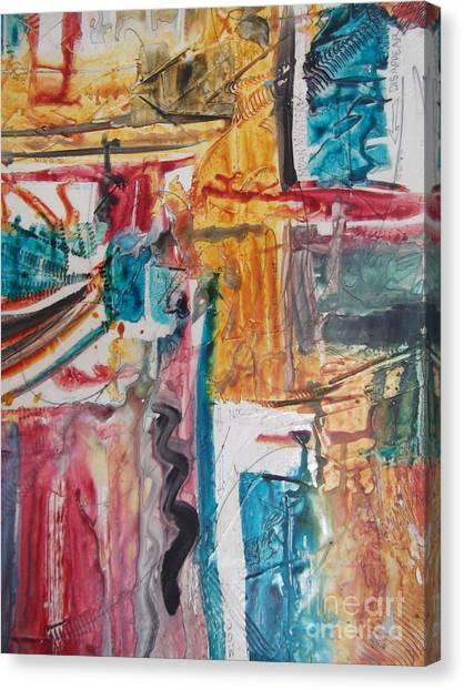 Upsy Downsie Canvas Print