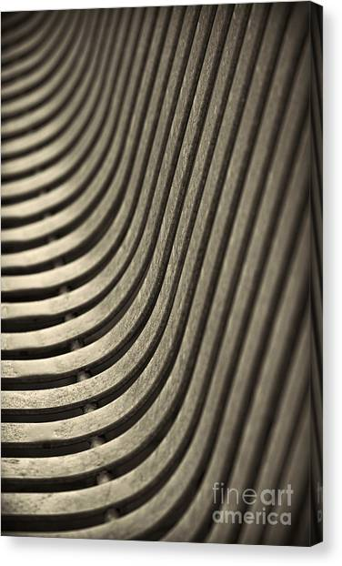 Upward Curve. Canvas Print