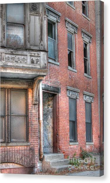 Urban Decay In Cincinnati Canvas Print