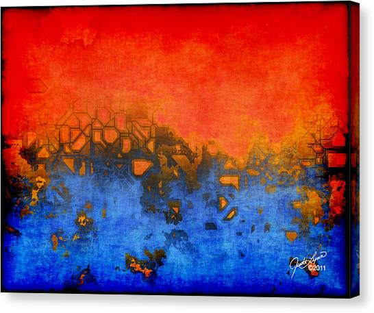 Urban Heat Canvas Print