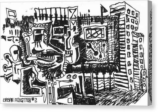Urban Monster 2 Canvas Print