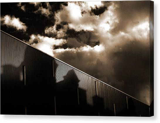 Urban Sky Canvas Print by Anton Ishmurzin