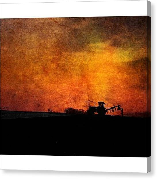 Farmers Canvas Print - #usaincolor #colorsplash #farmer by Melanie Stork