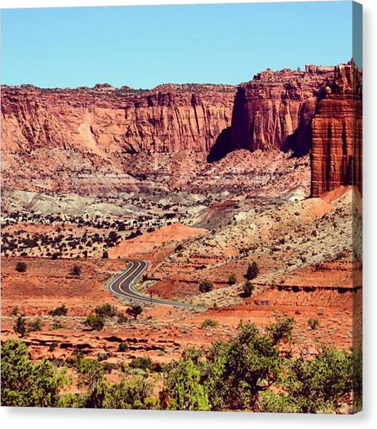 Landscapes Canvas Print - Utah by Luisa Azzolini