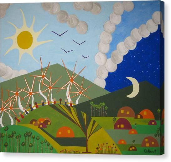 Utopia Canvas Print