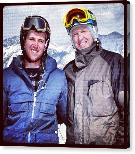 Snowboarding Canvas Print - #vail by The Fun Enthusiast
