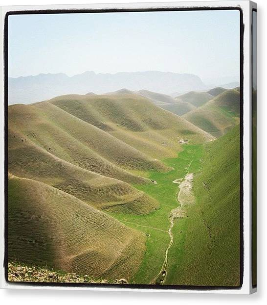 Army Canvas Print - Valley In Northern Afghanistan by Cody Barnhart