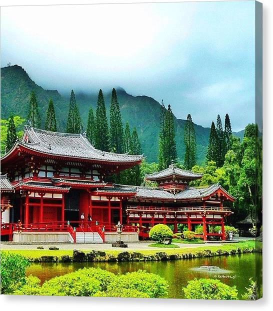 Temples Canvas Print - Valley Of The Temples Memorial Park by Raffaele Salera