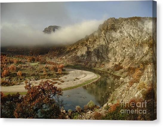 Valley Of The Vultures Canvas Print