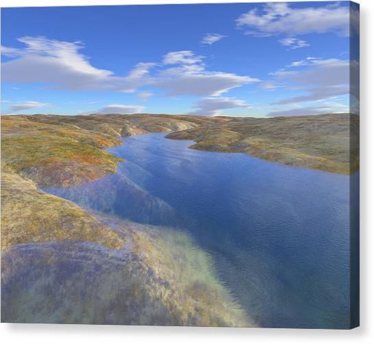 Valley Stream 2 Canvas Print