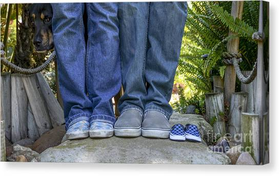 Vans Canvas Print by Baywest Imaging