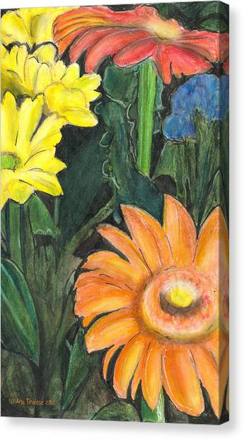 Vasco's Flowers Canvas Print