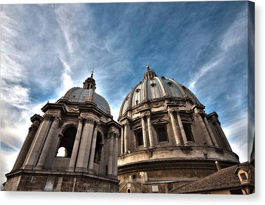 Vatican Dome Canvas Print
