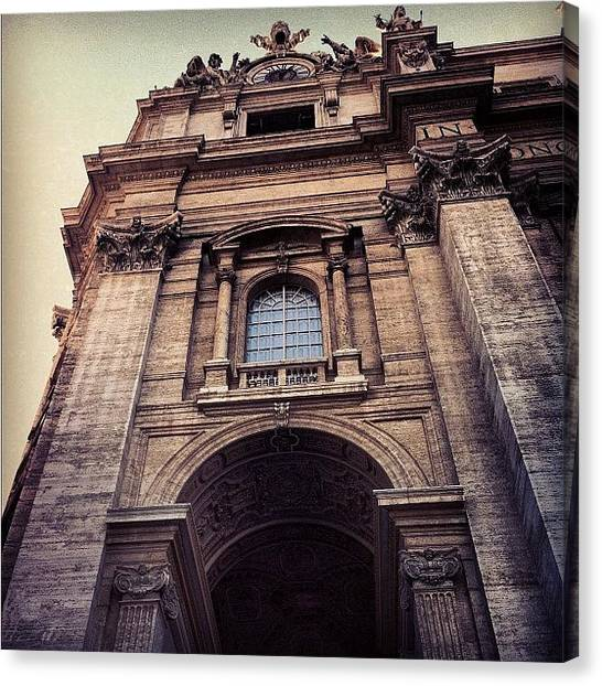 Rome Canvas Print - #vatican #italy #city #beautiful #rome by Bekah Chaplin ™